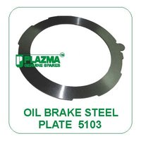 Oil Brake Steel Metal Plate 5103 For Green Tractors