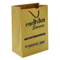Single Colour Craft Paper Bag