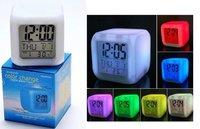 Round Lcd Projection Clocks With Alarm