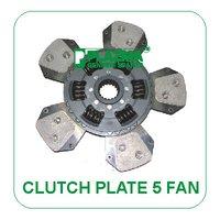 Clutch Plate 5 Fan For John Deere Tractors