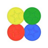 Multicolor Plastic Token
