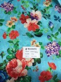 German Digital Printed Dupioni Fabric