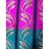 Jacquard Border Fabric
