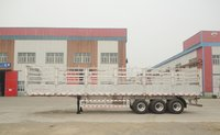 13 Meters Aluminum Alloy Fence Semi-Trailer