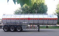 41.8 CBM Crude Oil Tanker Trailer