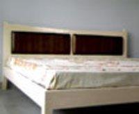 Low Teakwood Bed