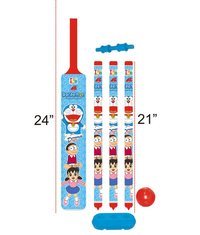 Plastic Bat And Ball Cricket Set (24x21 Inches)
