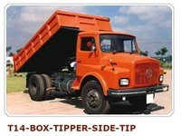 T-14 Box Tipper Side Tip For Heavy Vehicle