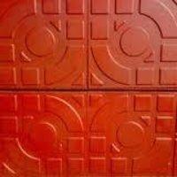 Designer Tiles RCC Precast Cement Concrete Terracotta Chequered