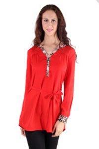 Red Ladies Tunics