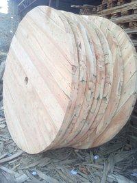 Wood Cable Reeling Drum
