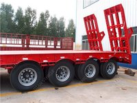 3 Axle 60 Ton Low Flatbed Trailer