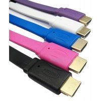 1.5 Mtr Hdmi Male To Male Color Full Flat 1.4 V Cable