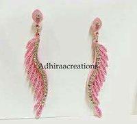 Handmade Paper Quilling Earrings