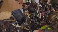 Leather Cuttings Scraps