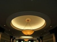 Gold Leaf Ceiling Dome