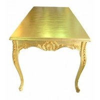 Gold Leaf Finish For Table