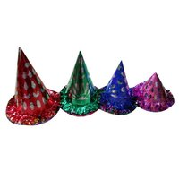 Birthday Holographic Shiny Caps