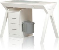 Nail Table with Drawer