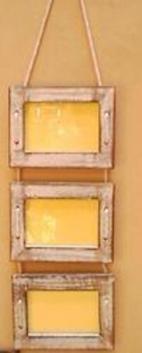 Multiple Photo Hang-Able Wooden Frames