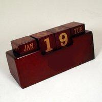 Woden Desk Calendar