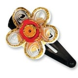 Paper Quilling - Stylish Hair Bands and Hair Clips
