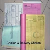 Delivery Challan Book