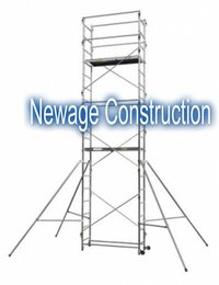 Narrow Aluminum Working Scaffolding Towers