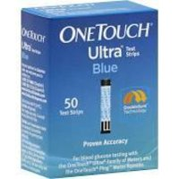 OneTouch Ultra Test Strips, Blue - 50 Strips