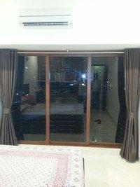 Wooden Coated Aluminum Sliding Window And Doors