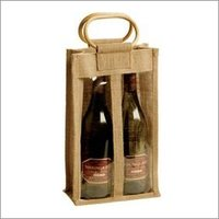 Fashionable Jute Wine Bottle Bags