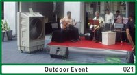 Evaporative Air Cooler For Outdoor Event