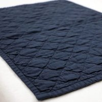 Cotton Linen Quilted Placemat