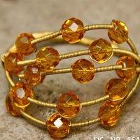 Metal Beaded Napkin Ring