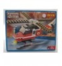 Helicopter Fire Fight Mega Blocks Toy