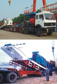 Rig Moving Truck