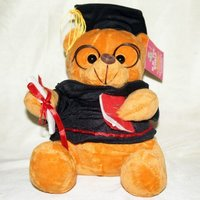 Cute Student Teddy (Lawyer Teddy) With Jacket And Music