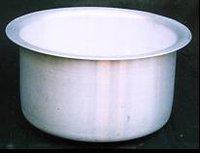 Aluminium Pots Top Round Bottom