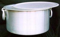 Aluminium Pots Top With Round Handle