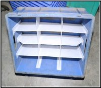 Plastic Crate With Channel Patti