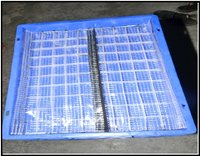 Plastic Crate With Flap Cover