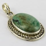 Turquoise 925 Sterling Silver Pendants
