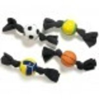 Ball With Terry Cloth Dog Toy