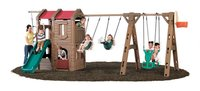 Naturally Playful Lodge Play Center With Glider