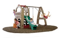 Np Playhouse Climber And Swing Extension