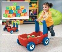 Walker Wagon With Blocks