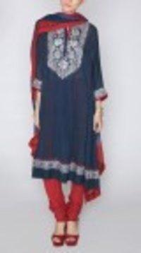 Gulshan Blue Suit
