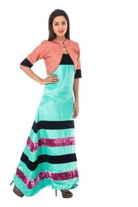 Ladies Gown With Shrug