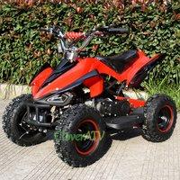 4 inch Wheel Kids Mini Moto Bike 49CC ATV Quad Motor with Mirror