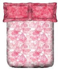 Red Dusk And Dawn Bed Sheet